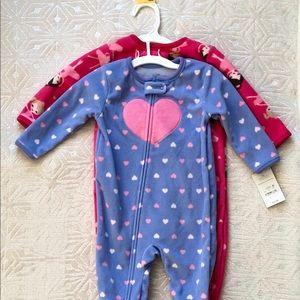 Just for You by Carter's Set of Two Baby Pajamas